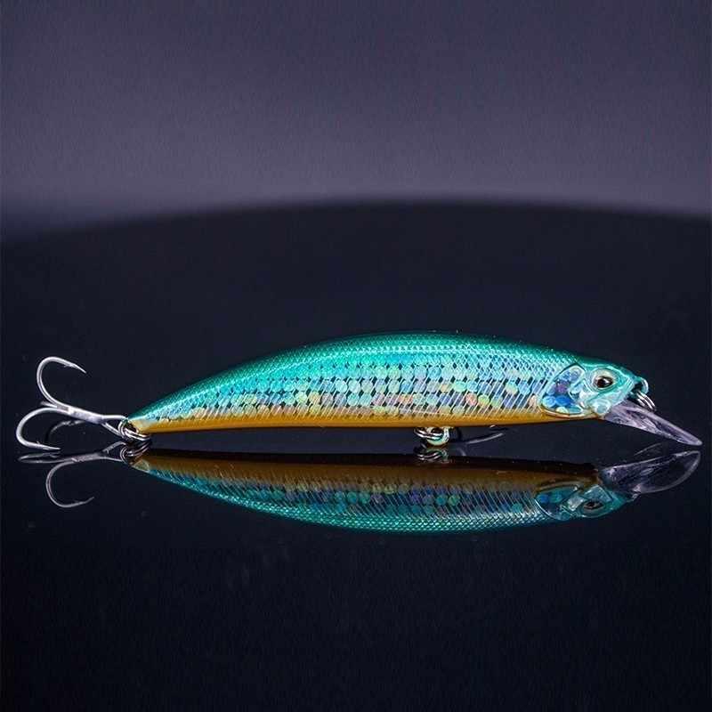 ดีเยี่ยมเหยื่อตกปลา Minnow 9.5 cm 15g เหยื่อตกปลาเหยื่อตกปลา Far หล่อ Float สำหรับ Bass Pike Perch camping Jerk เหยื่อ