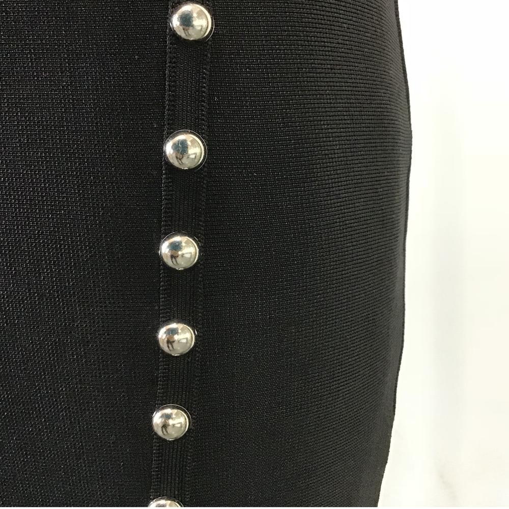 Noir De Crayon La Clubwer Plus W004 Kaouyou En Moulante Tenue Jupes Gros Perle Bandage Mini Taille Jupe C0w1fdq