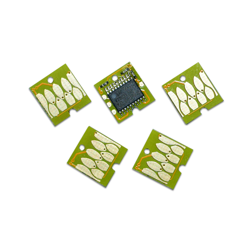5pc T6193 waste ink collector arc chip for <font><b>Epson</b></font> T3000 T5000 <font><b>T7000</b></font> T3080 T5080 T7080 T5200 T7200 T3070 printer image