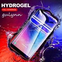 HD полный чехол Мягкая Гидрогелевая пленка для samsung Galaxy A20 A30 A40 A50 A70 S 10 S9 10E Plus M 10 20 J4 J6 защитная пленка