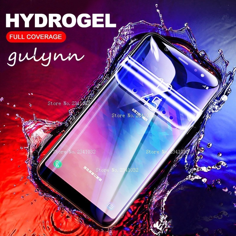 New HD Full Cover Soft Hydrogel Film For <font><b>Samsung</b></font> Galaxy A20 A30 A40 A50 A70 S 10 S9 <font><b>10E</b></font> Plus M 10 20 J4 J6 Screen Protector Film image