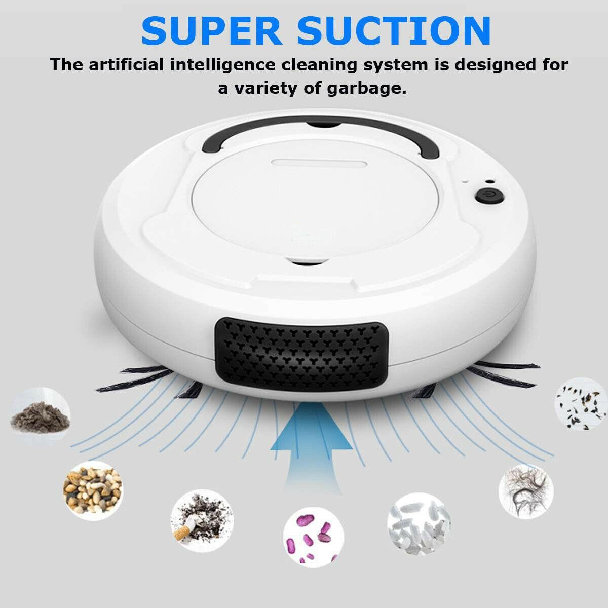 Автоматический пылесос- умный робот очиститель для любой поверхности