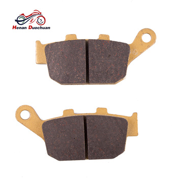 Rear Brake Pads For HONDA FES 125/150 03-07 CB CBR NSR VTR 250 CB 400 92-98 NX 500 92-96 XL 650 00-07 XL 700 08-09 Motorcycle image