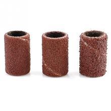 100 шт./лот шлифовальные ленты для ногтей для маникюра машина для сверления ногтей для педикюра 80#120#180# инструмент для дизайна ногтей