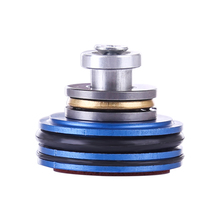 Singular Aluminum Alloy Double O-Ring Airtight Slient Piston Head for JM8/9 Singularity Gearbox Modification Upgrade - Blue
