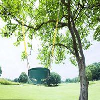 Children Kids Outdoor Hanging Garden Park Playground Tree Rope Rocking Swing Set Sport Equipment Safety Toy Gift