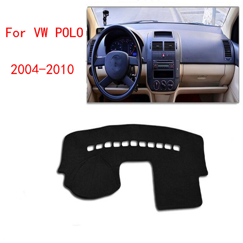 Dongzhen For VW POLO 2004 to 2010 Car Dashboard Avoid Light Pad Instrument Platform Desk Cover Auto Accessories