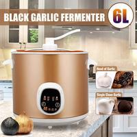6L 70 Вт автоматический интеллектуальный черный чеснок ферментер бытовой Diy Zymolysis чайник 220 В черный чеснок ферментационная машина