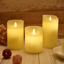 Candle Tea Light Battery Powered Lamp Simulation Color Flame Flashing Home Wedding Birthday Party Decoration Candles D25 недорого
