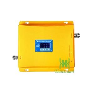 Image 2 - TianLuan GSM 900 mhz + 3g W CDMA 2100 mhz Dual Band Handy Signal Booster 2g 3g handy Signal Repeater mit Netzteil