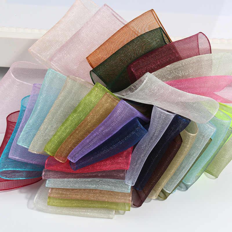 27 màu lựa chọn (10 yard/Nhiều) 3/4 ''(20mm) broadside Đàn Organ ruy băng sỉ gói quà tặng trang trí ruy băng