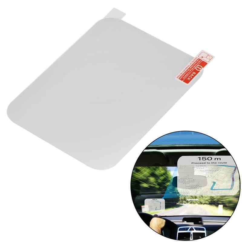 Head Up Display System Film HUD Reflective Film Protective Screen Film Driving Warning for Speeding Water Voltage Fatigue