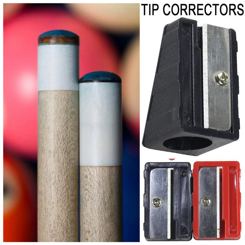 Cue Tip Shape Corrector Billiards Snooker Pool Tool Snooker Accessories For Outdoor Sports