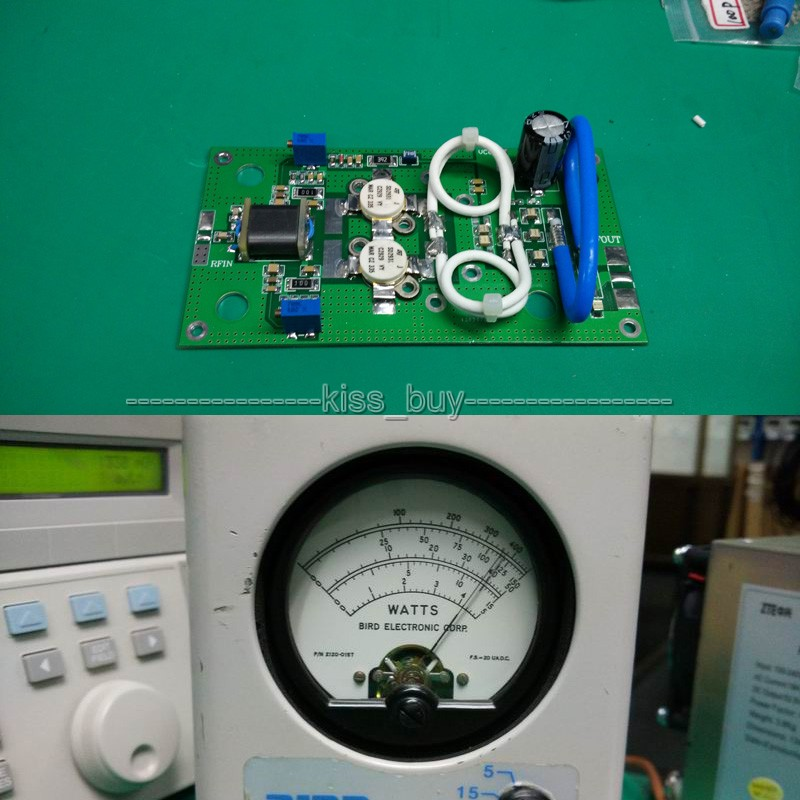 300W 88Mhz-108Mhz FM Transmitter RF Power Amplifier Board AMP For Ham Radio Amplifiers