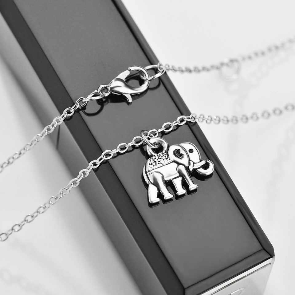 New arrival śliczny kształt słonia moda styl kobiety naszyjnik elegancki wspaniały rocznica naszyjnik dla damska biżuteria na prezent