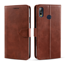 For Asus Zenfone Max Pro M2 ZB631KL ZB633KL Case Retro Calf PU Leather Flip Stand Wallet For Asus ZB602KL ZB634KL Case Card Slot for asus zenfone max pro m2 zb631kl case luxury pu leather flip stand wallet cover for asus zb631kl zb633kl case card slot retro