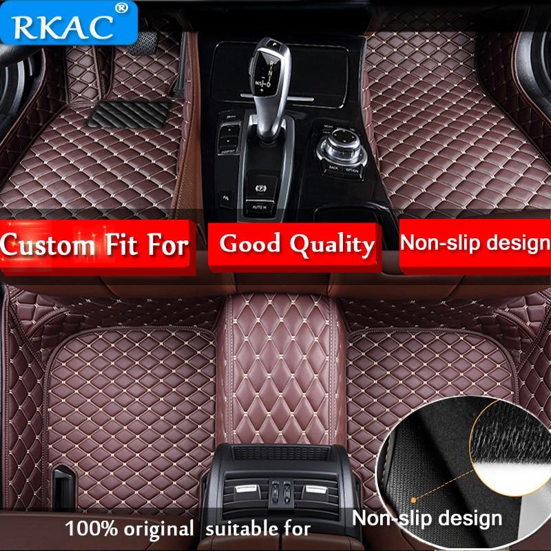Tapis de sol de voiture RKCA pour Toyota Land Cruiser 200/Prado LC120 LC150 FJ120 FJ150 2005-2017 tapis de voiture 3D sur mesure
