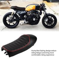 Motorcycle Universal Sponge Hump Brat Styling Retro Classic Saddle Cafe Racer Seat For Honda bikes and other motorcycle NEW