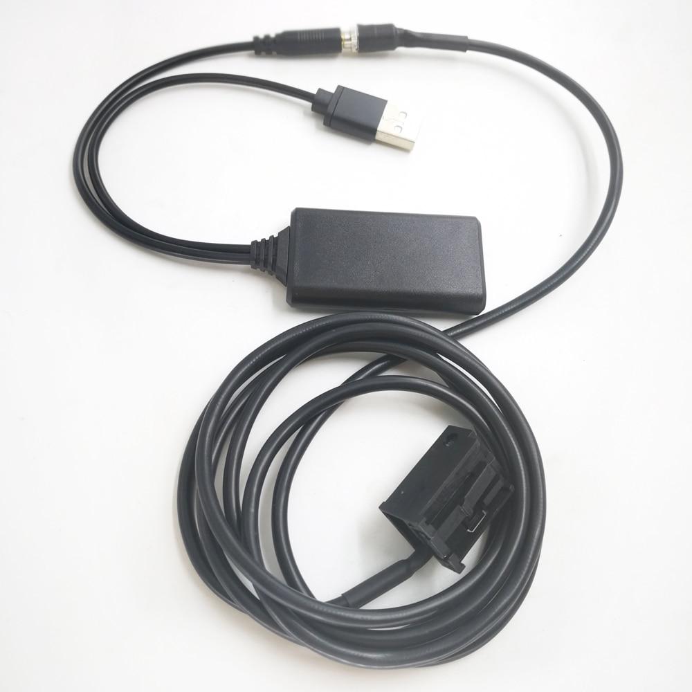 6000 CD MP3 Adaptador de cable auxiliar de entrada de audio Linea de transmis 4M