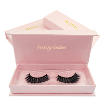 SHIDISHANGPIN natural long false eyelashes 1 pair mink hand made 3d lashes box volume eyelash extension