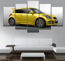 Painting Canvas Art HD Print Poster Modern 5 Panel Car Home Decor For Living Room Wall Modular Picture Framed Chambotrade