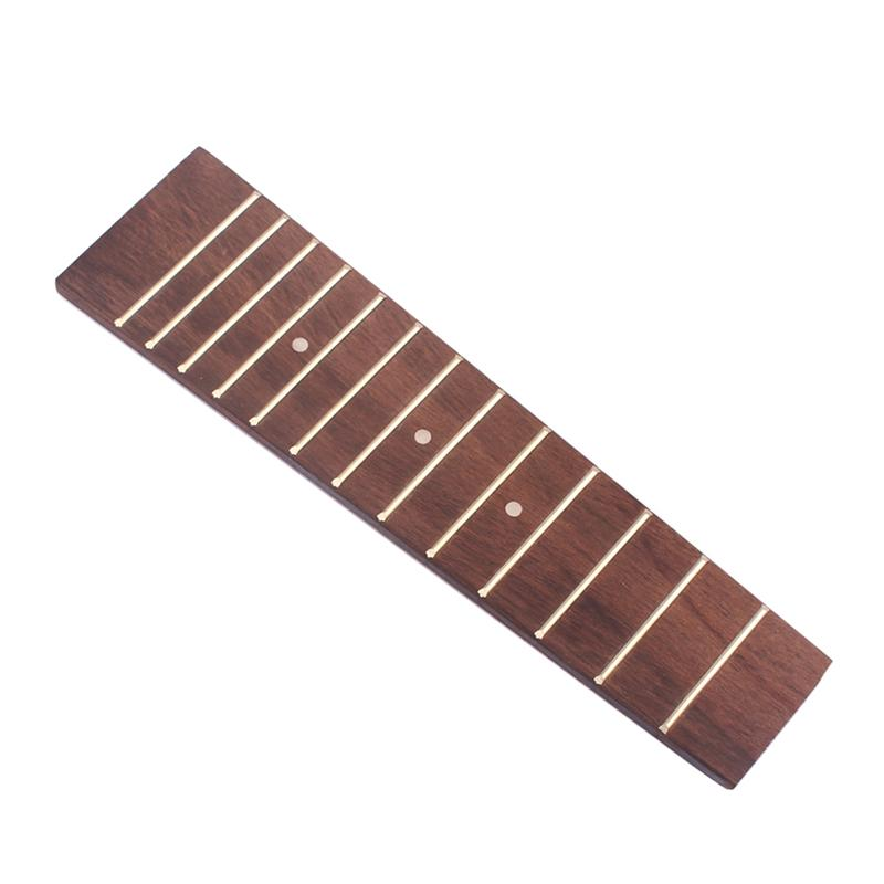Kind-Hearted Ukulele 13 Fret Fretboard Fingerboard For 17 Inch 21 Inch Ukulele Soprano Ukulele Hawaii Guitar Accessory Replacement gsa04 Musical Instruments