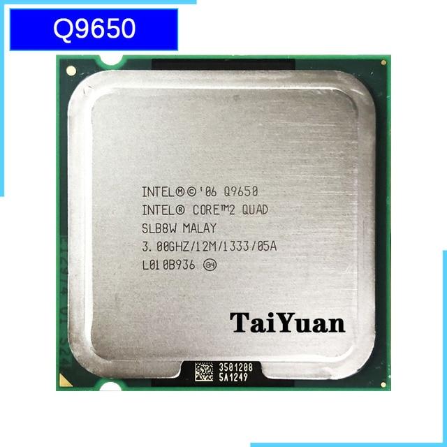 إنتل كور 2 رباعية Q9650 3.0 GHz رباعية النواة معالج وحدة المعالجة المركزية 12 متر 95 واط 1333 LGA 775