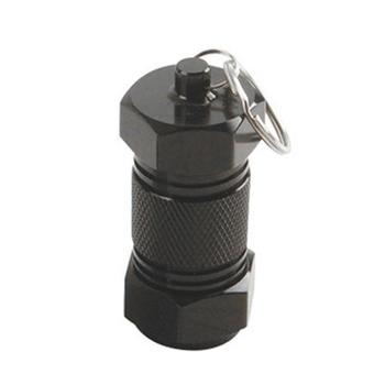 2pcs Keyring Pill Case Shape Durable Unique Creative Mini Key Ring Keychain for Women Men Kids