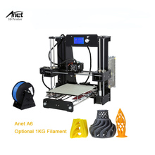 Anet A8/A6 3d Printer Reprap Acrylic Easy to Install DIY 3D Printer Prusa I3 Large Dimension 3d Printer Home Used 3d Printer 3d printer parts reprap mendel prusa mini i3 laser cut acrylic frame 6mm transparent acrylic plate free shipping