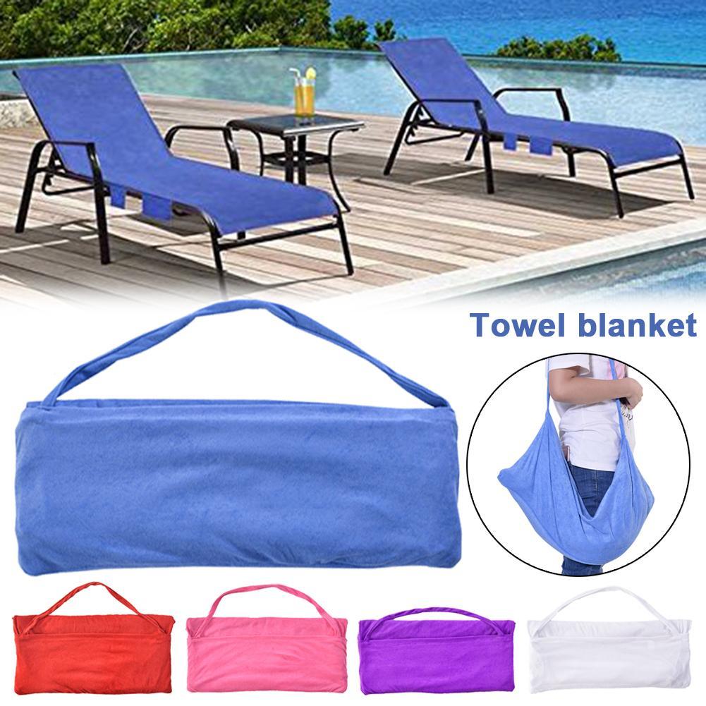 Leisure Chair Beach Towel Microfiber Swimming Pool Lounge ...