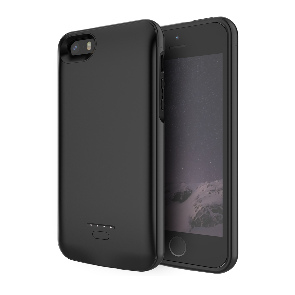 Battery Charger Case For Iphone Se 5se 5 5s <font><b>4000mah</b></font> <font><b>Power</b></font> <font><b>Bank</b></font> Charging Case Powerbank Charger Case For Iphone 6 6s 7 8 Case image