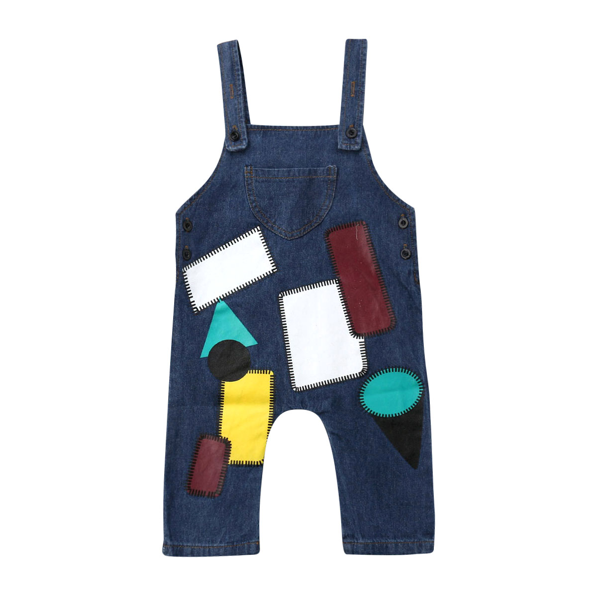 0-5y Kleinkind Kinder Baby Jungen Mädchen Ärmellose Denim Overall Overalls Ein Stück Sommer Kleidung