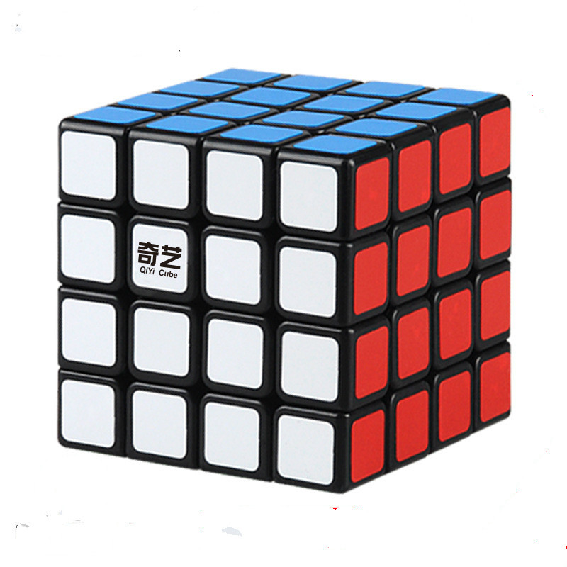 Qiyi 4x4x4 Steps 6.2*6.2*6.2cm Compete In Speed Introduction Smooth 4 Magic Neo Cube Oxyphylla Interest Toys For Children Sale