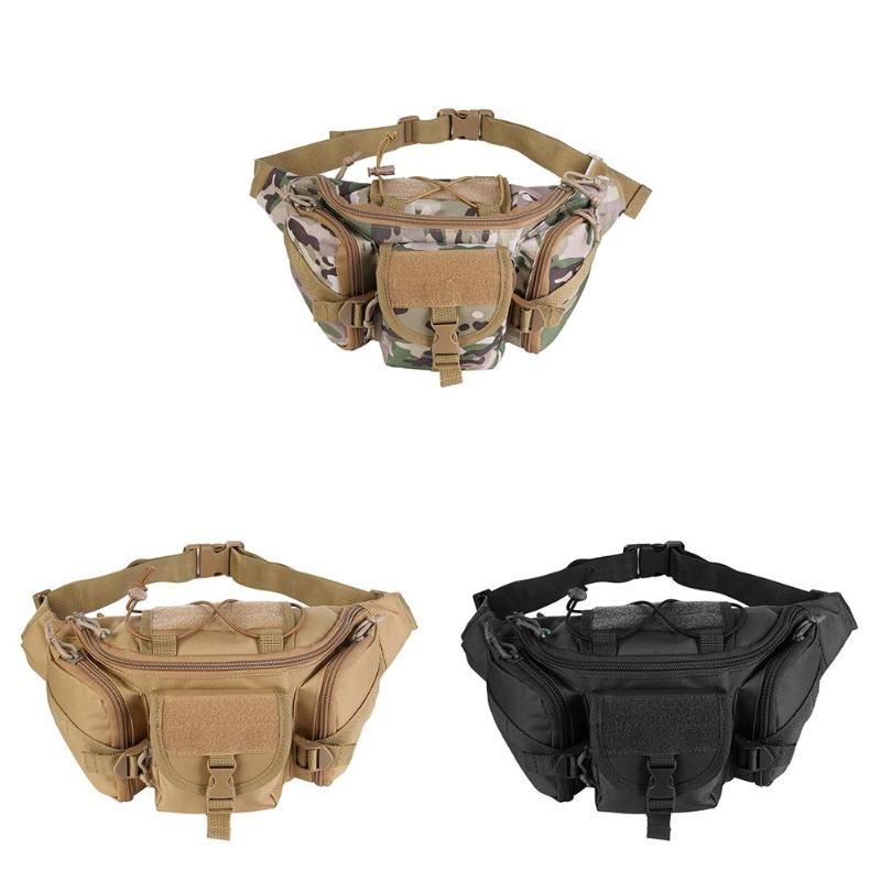 Tactical bag sport bags Military Waist Pack Shoulder Molle Camping Climbing Hiking Pouch With Six Color Outdoor AccessoriesTactical bag sport bags Military Waist Pack Shoulder Molle Camping Climbing Hiking Pouch With Six Color Outdoor Accessories
