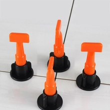 New Style 50Pc Flooring Wall Tile Leveling System Leveler Plastic Clip Adjustable Locator Spacers Plier Level Wedges Hand Tool
