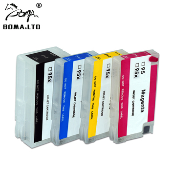 BOMA.LTD 952XL 953XL 954XL 955XL Ink Cartridge For HP OfficeJet Pro 7740 7730 7720 8710 8715 8718 8719 8740 8745 ARC Chip image