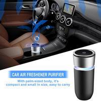 Car Air Freshener Purifier Coloured Lamp Cup Auto Mini Air Purifier KQ 08 Air Purifier Car Purifier Purificador De Ar