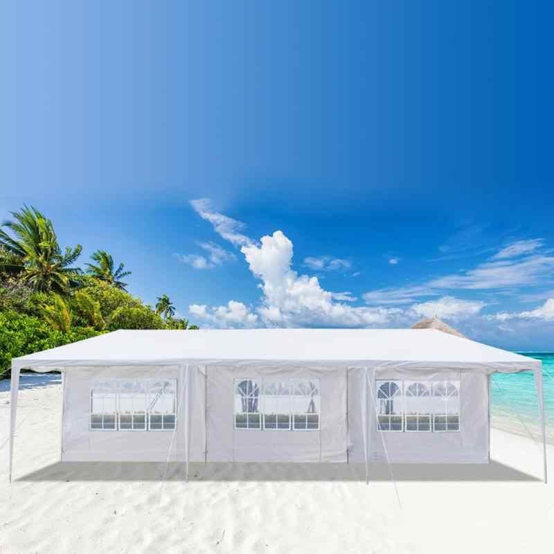 3 × 9m 防水庭屋外太陽のシェルタービーチテント駐車小屋結婚式パーティー大パビリオンキャノピー屋外キャンプテント