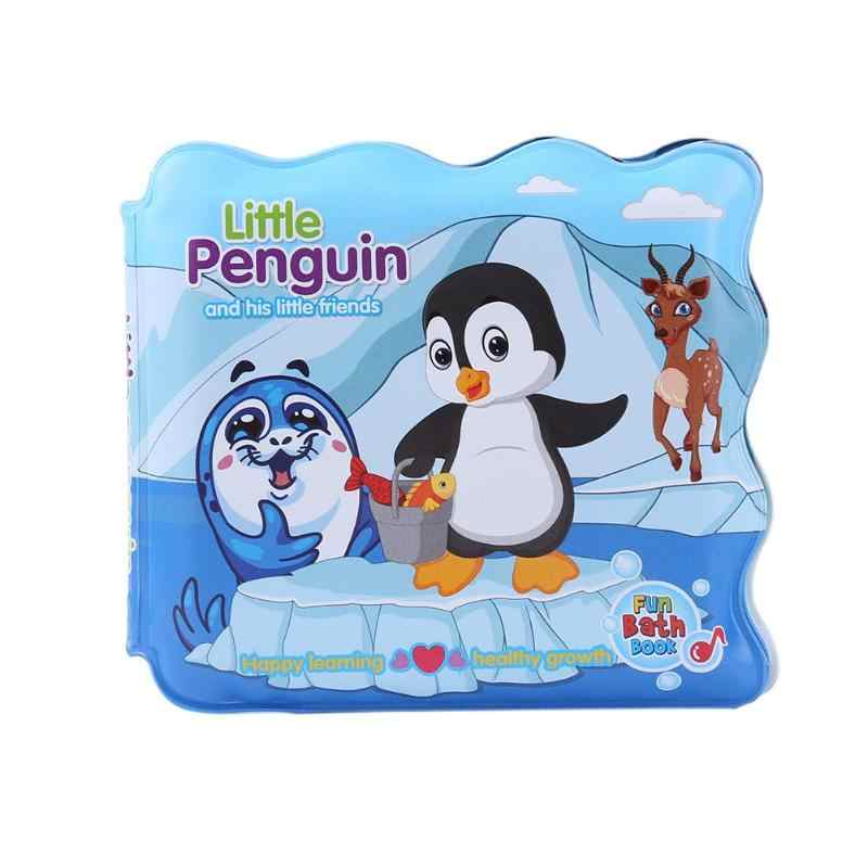 ベビー EVA 入浴ブック子供カラフルな漫画引裂抵抗お風呂シャワーおもちゃ幼児浴室防水フローティング認知するブック
