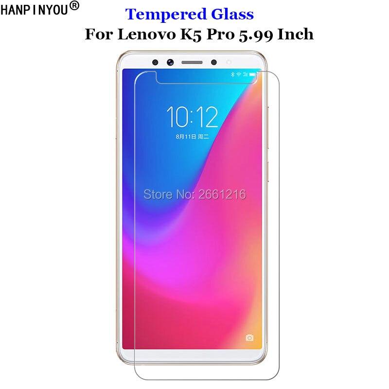 For Lenovo K5pro Tempered Glass 9H 2.5D Premium Screen Protector Film For Lenovo K5 Pro L38041 5.99