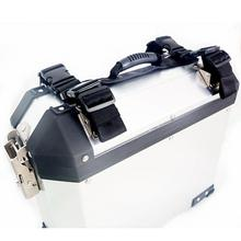 Мотоциклетная Левая Правая коробка, боковой Чехол, седельная сумка, багаж, алюминиевый сплав, боковая коробка с ручкой, веревка для BMW G1200GS F800GS