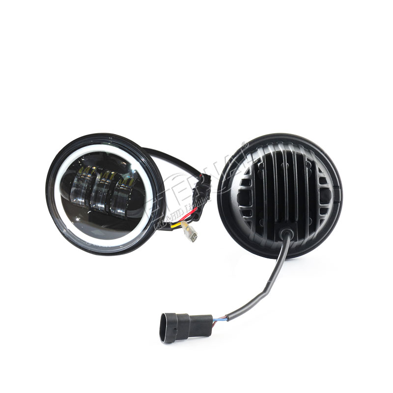 2x 30W motorcycle led fog light driving running headlamp projector for auto 4x4 off road truck motorcycles high power work lamp