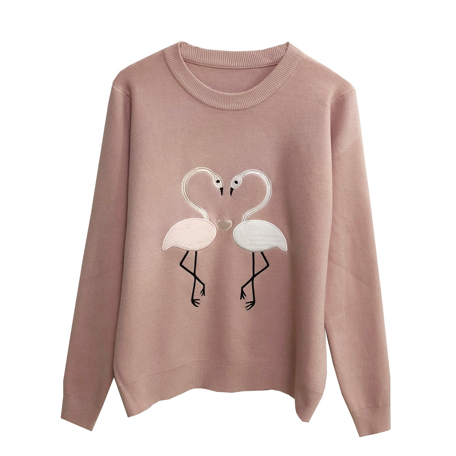 Fashion Casual pink Women white And White gray Embroidery Sweater Runway yellow New High Winter Pullovers Beige Sweaters Designer Autumn Quality Knitted xUqWf6wX