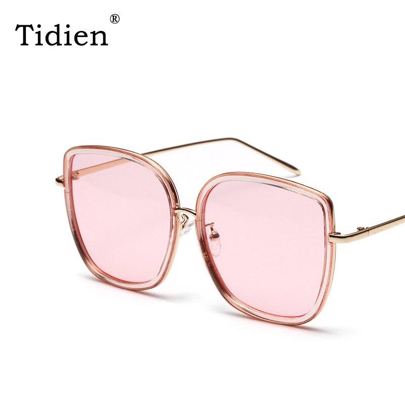b57c5e1acd Vintage de Metal cuadrado gafas de sol de las mujeres Tidien marca  diseñador viaje de compras. € 18,79. Clásico piloto aviador polarizado ...