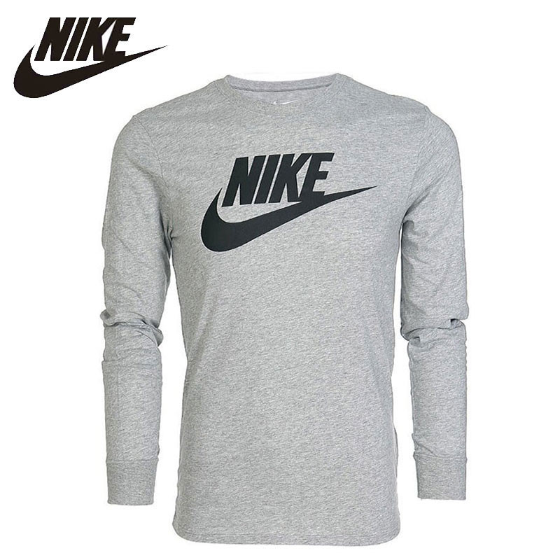 Nike Original FUTURA ICON Mens Skateboarding T-shirts Long Sleeve Sportswear Ultra-light Breathable Sweatshirt #708467-010-063Nike Original FUTURA ICON Mens Skateboarding T-shirts Long Sleeve Sportswear Ultra-light Breathable Sweatshirt #708467-010-063