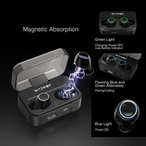 Image 3 - Blitzwolf BW FYE3 מגע בקרת bluetooth V5.0 TWS אמיתי אלחוטי אוזניות HiFi סטריאו דו צדדי שיחות ספורט אוזניות אוזניות