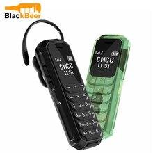 Mosthink KK2 MINI 2G GSM Mobiltelefon 0,66 Zoll Bluetooth V 3,0 Dialer Drahtlose Kopfhörer Magice Stimme Handy als L8star BM70