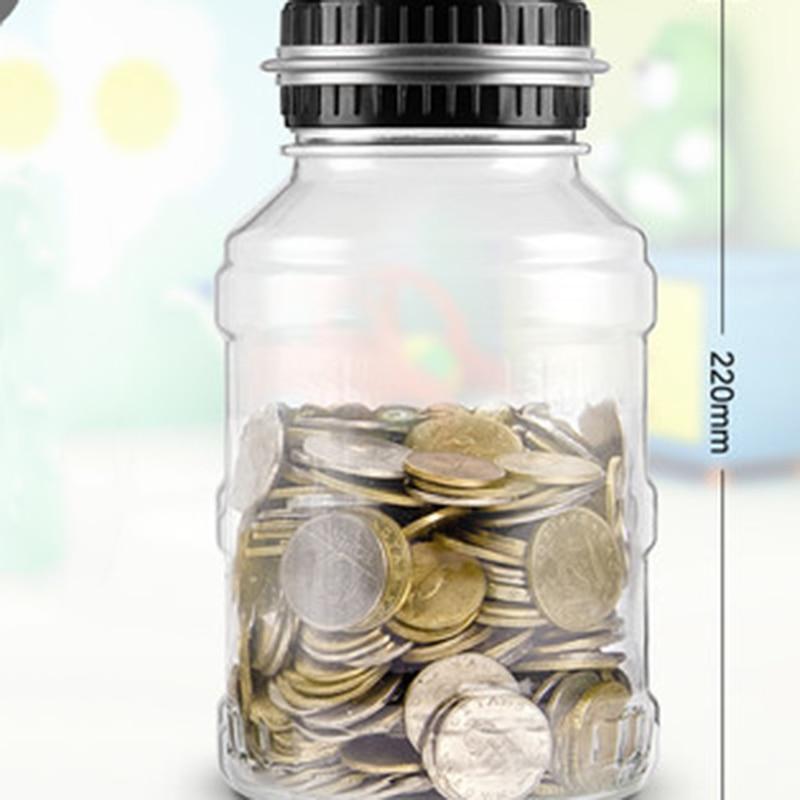 Electronic Creative Plastic Piggy Bank Money Box Digital Nordic Safe Mini Jar Counter Save Kumbara For Kids Adults Diy 50CX0010 milwaukee electric tool corporation