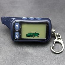 Томагавк TZ9010 ЖК-дисплей пульт дистанционного управления брелок для ключей, TZ-9010 брелок для ключей для автомобиля безопасности 2 Автомобильный пульт дистанционного управления ЖК-дисплей двухполосная Автомобильная сигнализация Системы TZ 9010