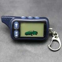 LLavero de control remoto LCD Tomahawk TZ9010, llavero de TZ-9010 para la seguridad del vehículo sistema de alarma de coche de 2 vías TZ 9010